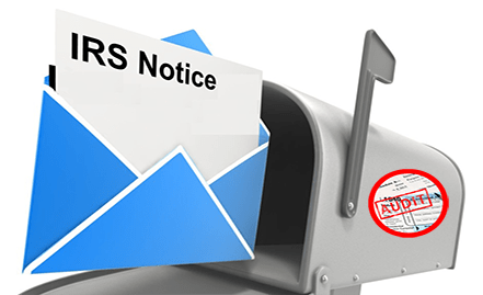 Receive an IRS Notice?